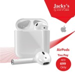 Apple Wireless Airpods  MMEF2E Offer at Jacky's
