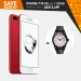 iPhone 7 Plus Red Super Bundle Offer at Axiom