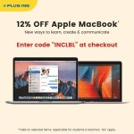 Apple MacBooks 12% Discount Deal at Plug Ins Online Store