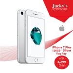 iPhone 7 Plus 128GB Silver Offer at Jacky's Online Store