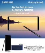 Pre Order  Samsung Galaxy Note 8 at Axiom Online Store