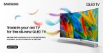 Trade Old TV for the New QLED TV at Sharaf DG Online Store