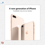 iPhone 8 and iPhone 8 Plus Offer at Axiom