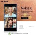 Nokia 8  64GB Dual Sim Smartphone Offer at Axiom Online Store