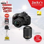 Nikon D5300 DSLR Camera Gitex Deal at Jacky's Online Store