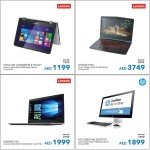 Laptops and Desktops Awesome Offers at Sharaf DG