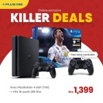Sony PlayStation 4 Slim 1 TB Offer at plug Ins Online Store