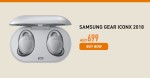 Samsung Gear IconX Offer at Axiom Online Store