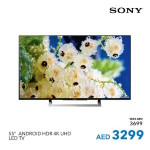 Sony 55″ Android HDR 4k UHD LED TV