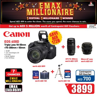 Best Offer for Canon EOS 600D -