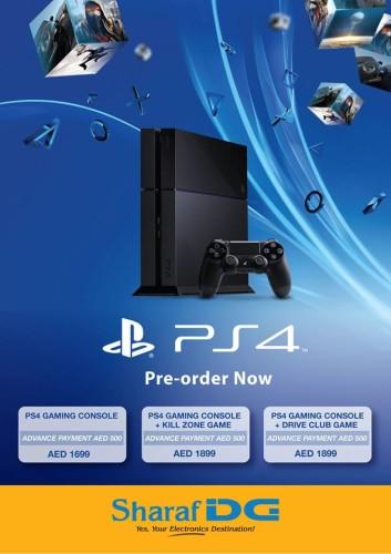 PS4 (Playstation 4) -