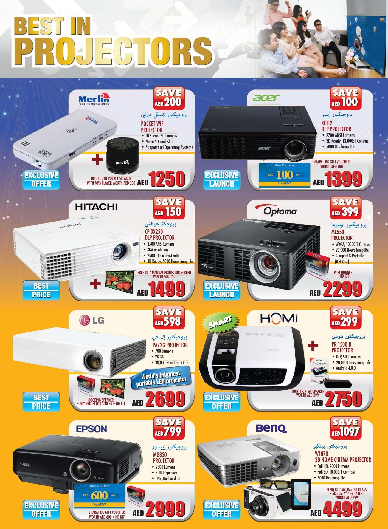 Home Theaters Systems Deals at Sharaf DG -
