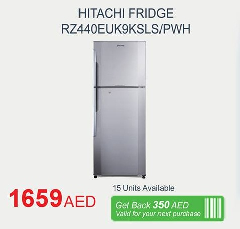 Hitachi Fridge Deal at Carrefour -