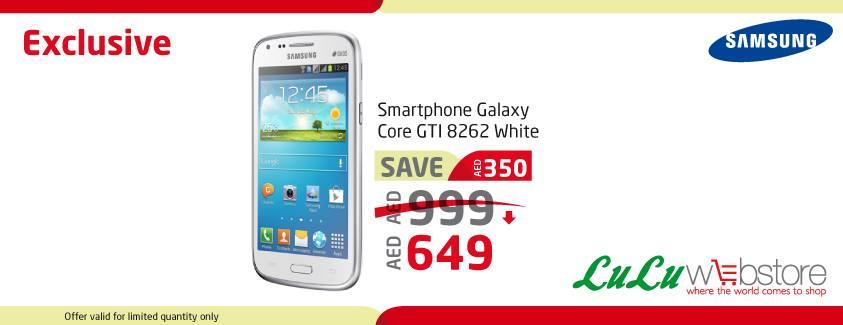Samsung Galaxy Core GTI Deal at LuLU -