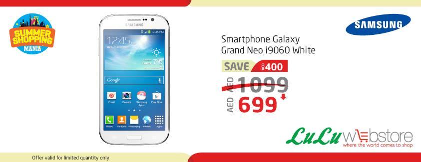 Samsung Galaxy Grand Neo Deal at LuLu Webstore -