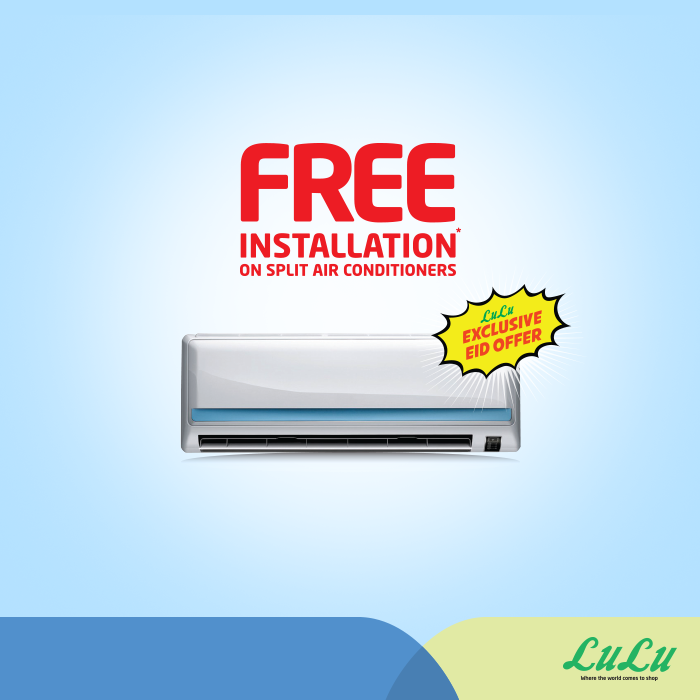 edf0b7e1a Split Air Conditioners Offers at LuLu -