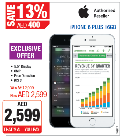 Iphone 6 Plus 16gb Exclusive Offer At Plug Ins
