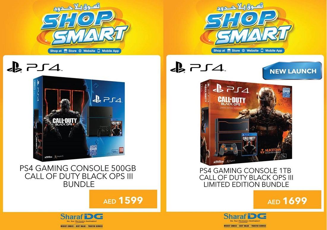PS4 Game Bundle Offer at Sharaf DG -