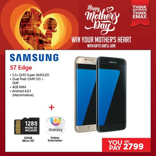 Samsung Galaxy S7 Edge Smartphone Offer at Emax -