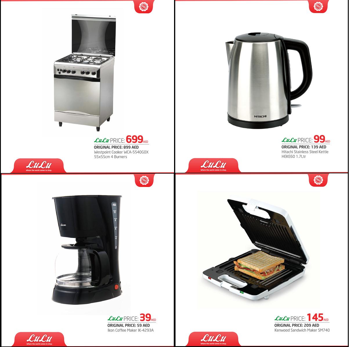 Kitchen Appliances Deals In Dubai