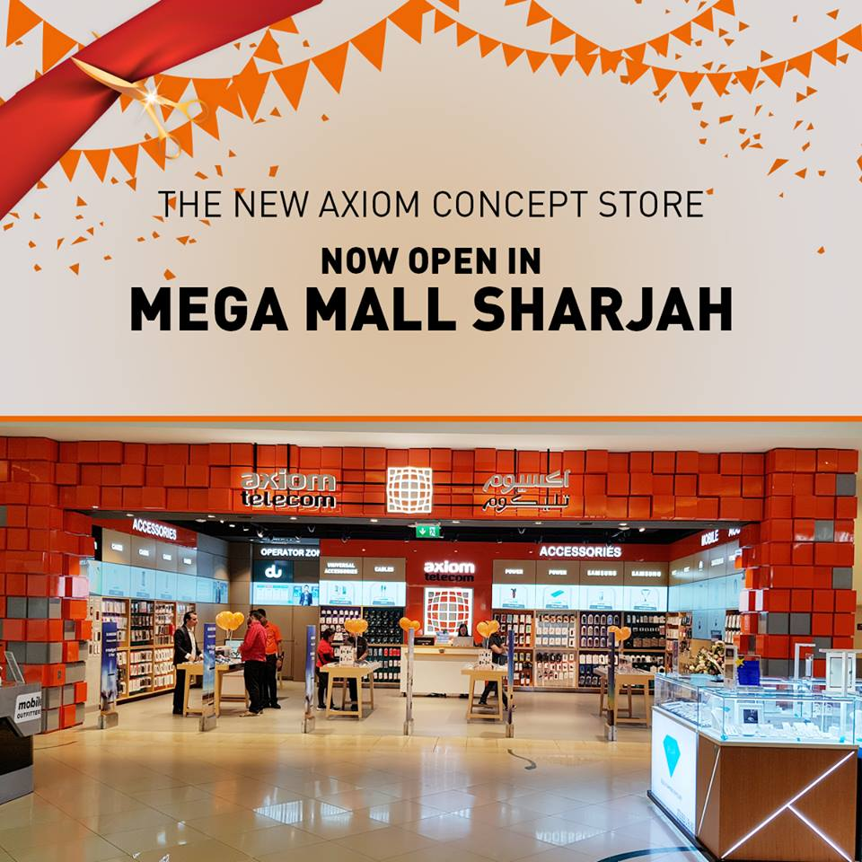 Axiom Unbeatable Offers at Mega Mall Sharjah Branch -