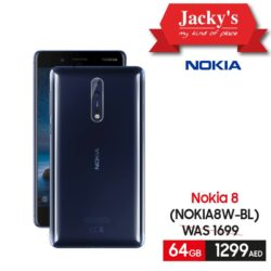 8ab2c631910 Nokia 8 W-BL Smartphone Offer at Jacky s Online Store